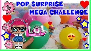 LOL SURPRISE POP SURPRISE MEGA CHALLENGE! gioca anche tu! By Lara e Babou