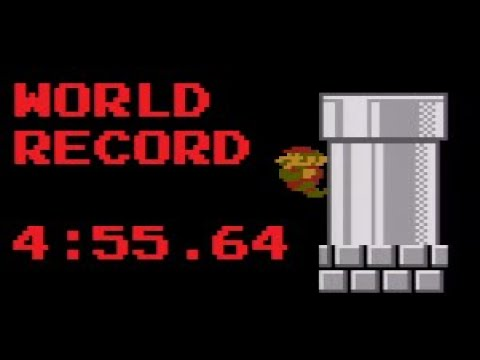 [WR] Super Mario Bros. Any% Speedrun In 4:55.646