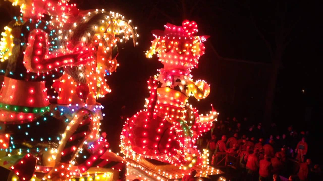 verlichte optocht berghem 2014 cv het smidje en cor ok carnaval glitter glamour youtube