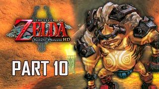 The Legend of Zelda Twilight Princess HD Walkthrough Part 10 - Goron Mines (Hero Mode)