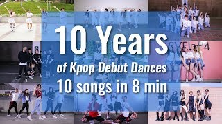 [Koreos] 10 years since SNSD special: K-pop Debut Song Medley since 2007 in 8 minutes - Stafaband