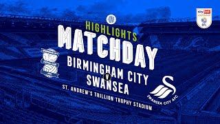 Highlights   Blues V Swansea City