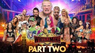 WWE 2K19 Universe Mode Randomiser  WrestleMania 35 Part Two
