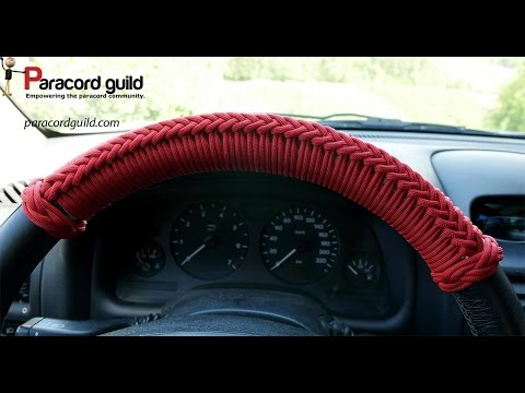 Car Tack Paracord Steering Wheel Wrap Youtube