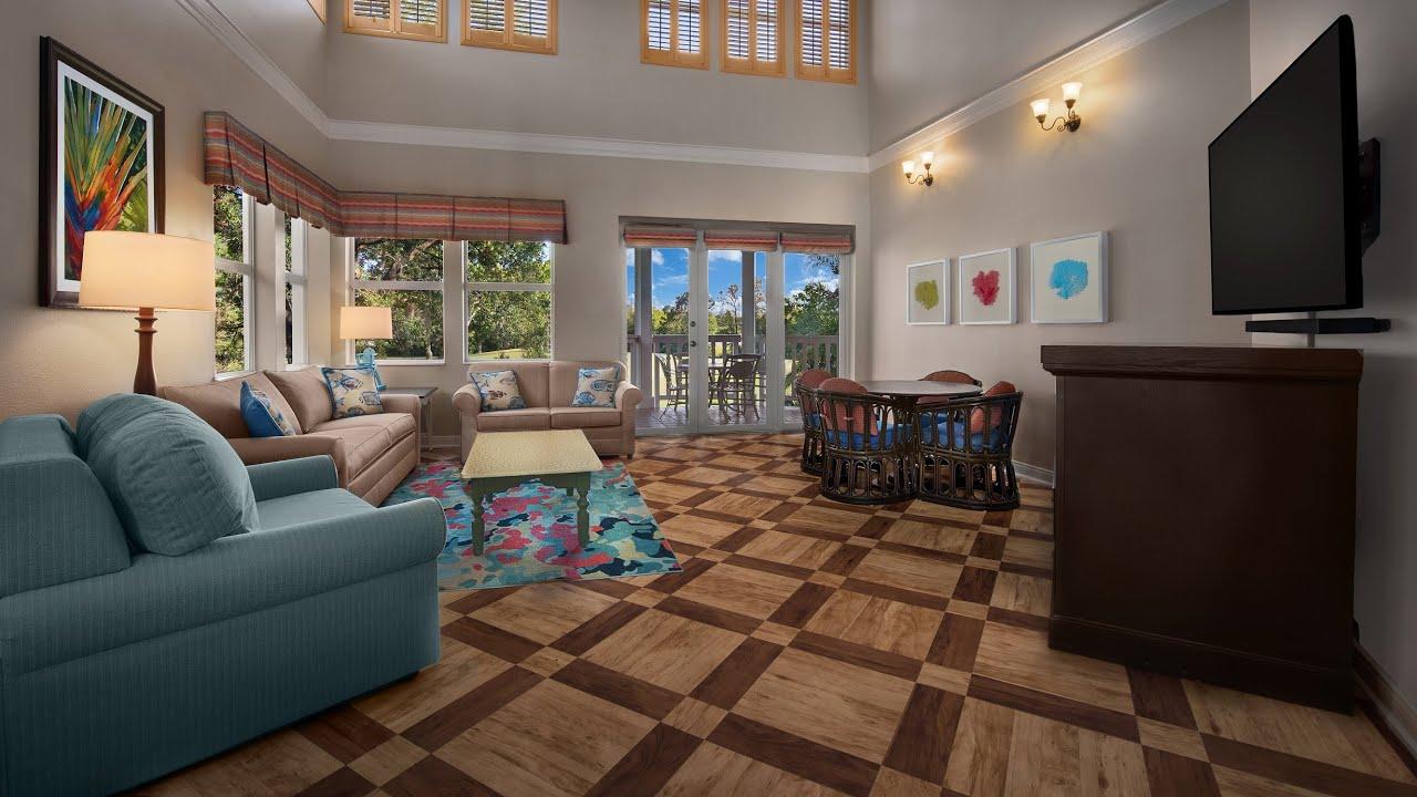 Disney S Old Key West 3 Bedroom Grand Villa Room 1923 From Dvc Rental 4k Youtube