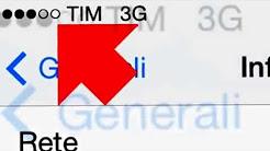 GUIDA AMPLIFICAZIONE SEGNALE TIM GSM/E/3G iPHONE 5 / 5S / 5C / iPAD LTE - NO JAILBREAK