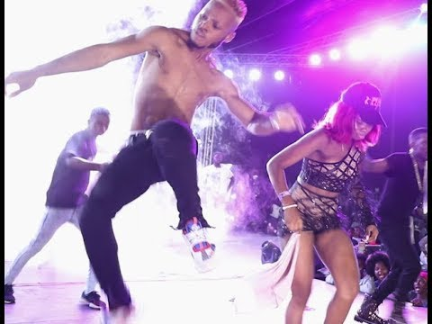 Poco Lee & Pinki Debbie Set Small Doctor Show On Fire With Their Zanku legwork & Shaku Shak dance
