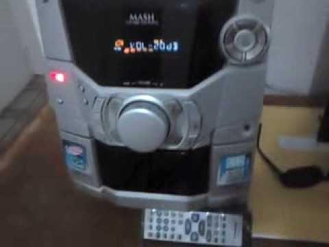 Cd Stereo System Panasonic Sa Ak110 Doovi
