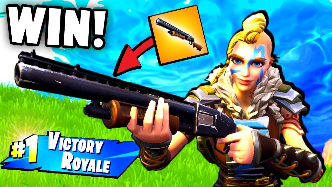 VIKINGS WITH SHOTGUNS?! Epic VICTORY ROYALE! - Fortnite Battle Royale Funny Moments