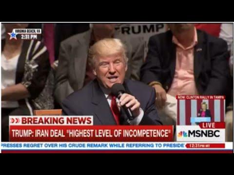 MSNBC, Fox & CNN devote more time to covering Trump than ...