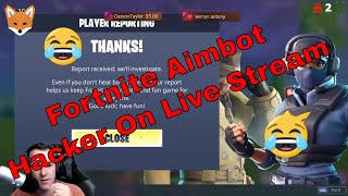 Streamer Killed By Hackers On Fortnite Reaction!