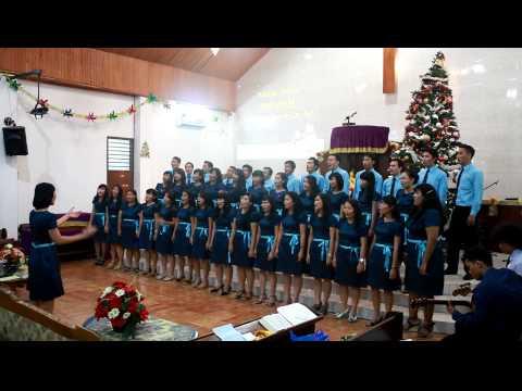 Paduan Suara Naposo Remaja HKBP Semper dalam Perayaan Natal N-R HKBP Semper 2012 (Klip 2)