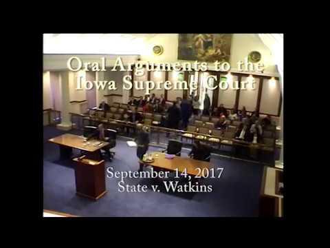 17–0183 State of Iowa v. Abraham K. Watkins, September 14, 2017