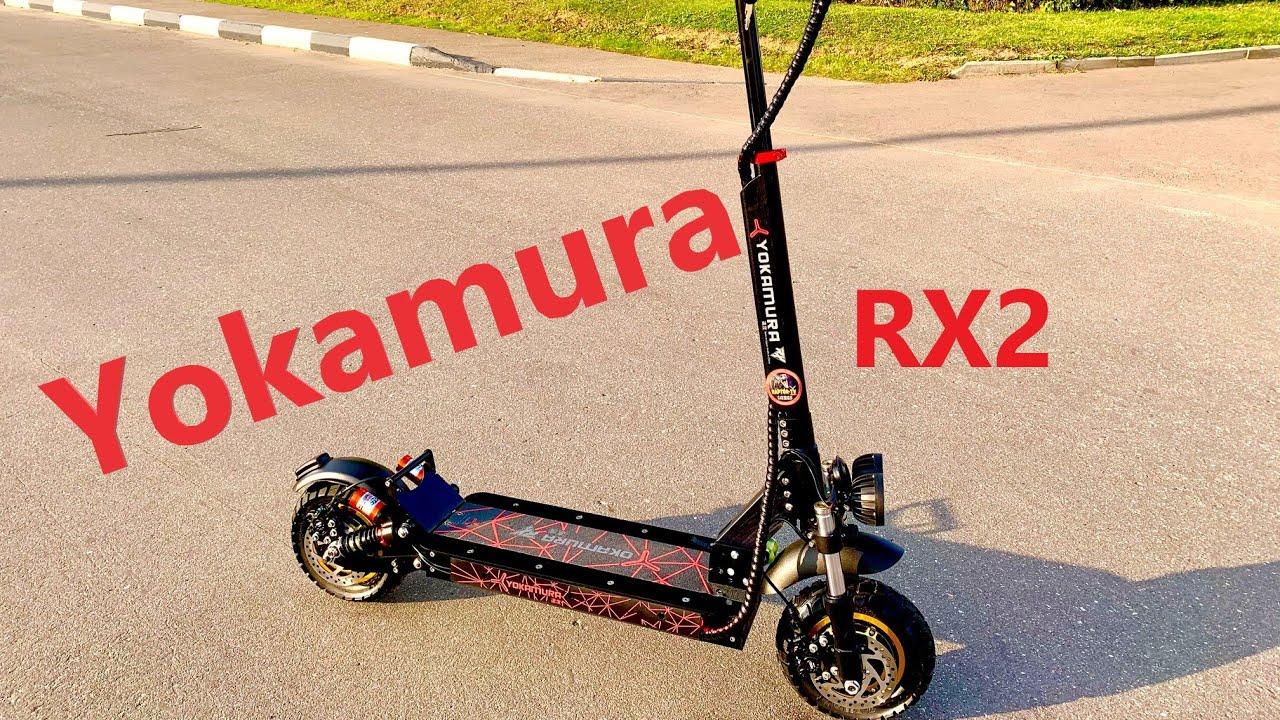 Самый доступный полноприводный электросамокат от Yokamura - Yokamura  RX2