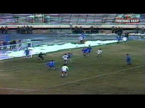 1 Тур Чемпионат СССР 1991 Арарат Ереван-Динамо Минск 1-0