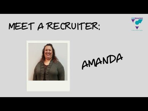 Meet Amanda: Perm Healthcare Recruiter