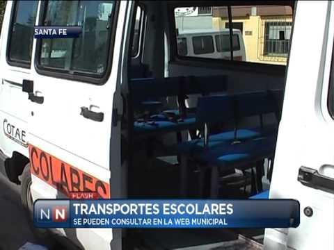 Las Noticias por el Nueve - Transportes escolares - 26/02/2013