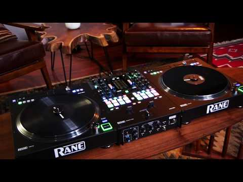 Rane SEVENTY-TWO Battle-Ready 2-channel DJ Mixer and Rane TWELVE Motorized DJ Battle MIDI Controller