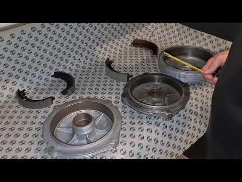 Bremsbelagstärke Puch 500 / 650 / 700 und Haflinger kurz erklärt