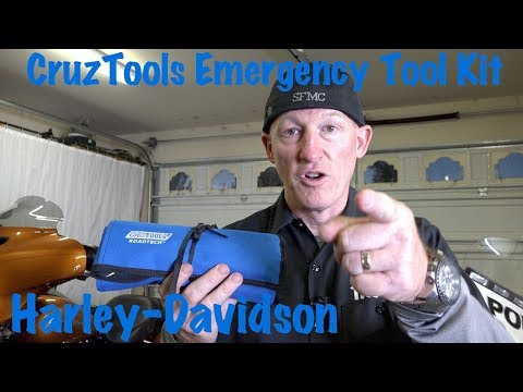 Best Motorcycle & Harley Emergency Roadside Tool Kit-CruzTools Roadtech-Review by Bikers