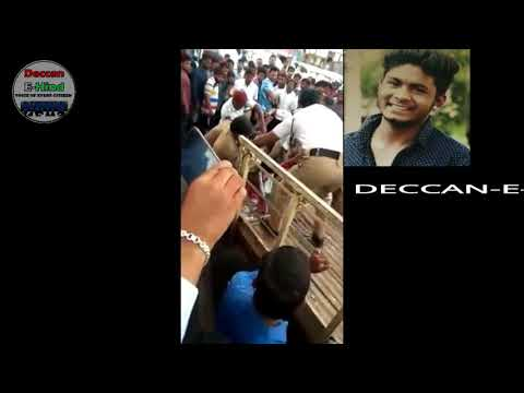 Inter student Sudheer stabbed to death on his way to exam | Kukatpally | Hyd | 12-Mar-2018