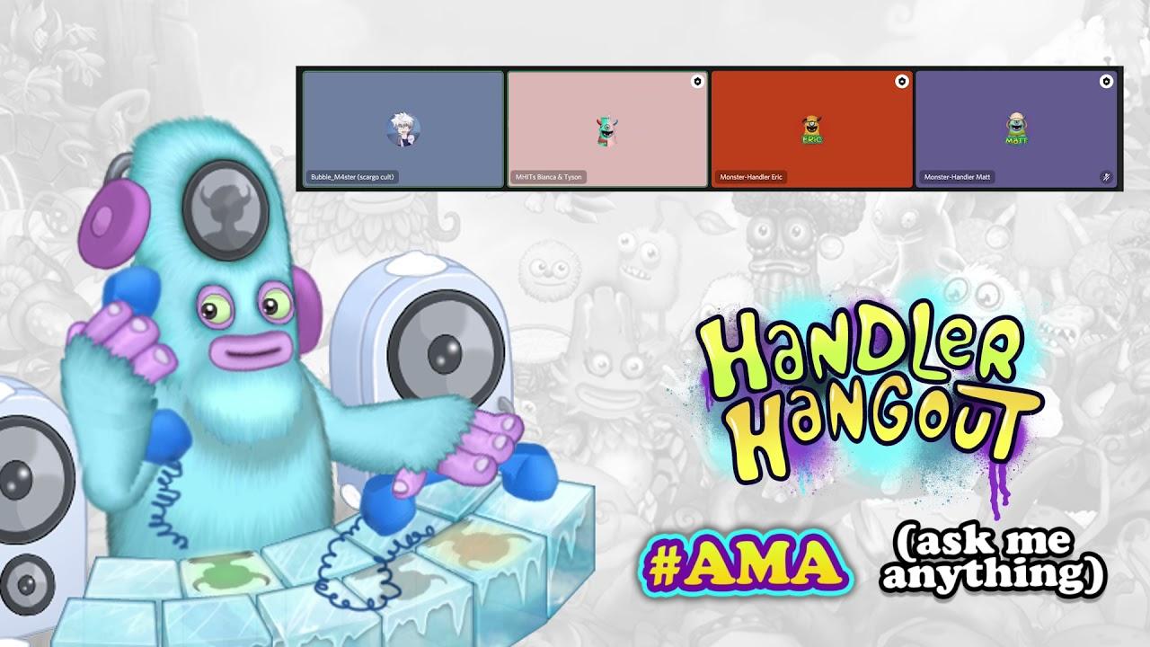 My Singing Monsters Handler Hangout - July 2021