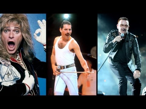 Top 10 Frontmen in Rock
