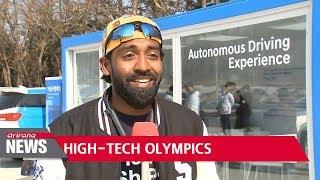5G, cutting edge tech everywhere at PyeongChang Winter Olympics