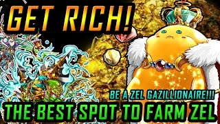 GET RICH!! The BEST Spot to farm Zel! No Gems required! Free & Natural!
