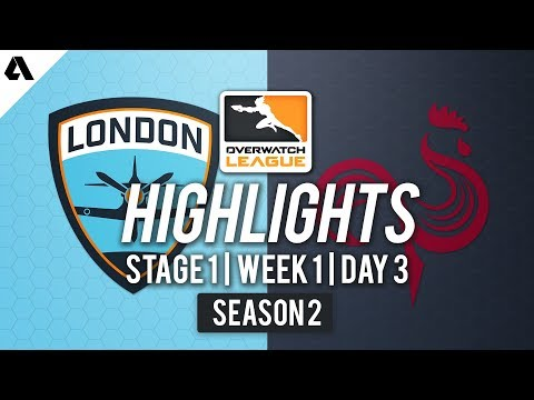 London Spitfire vs Paris Eternal | Overwatch League S2 Highlights - Stage 1 Week 1 Day 3 thumbnail