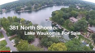 381 north shore dr lake waukomis for sale