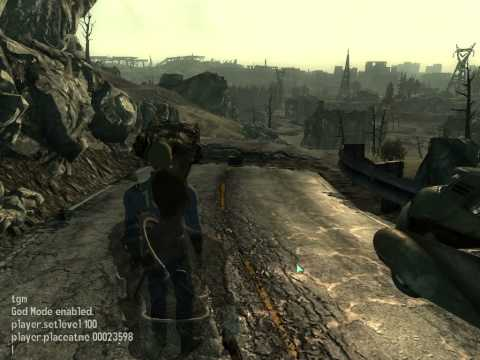 Fallout3 how to spawn npcs