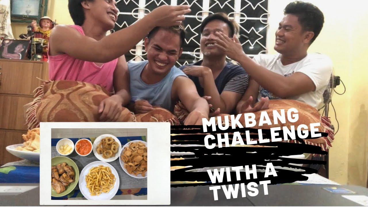 MUKBANG CHALLENGE WITH A TWIST | FOOD AND FUN
