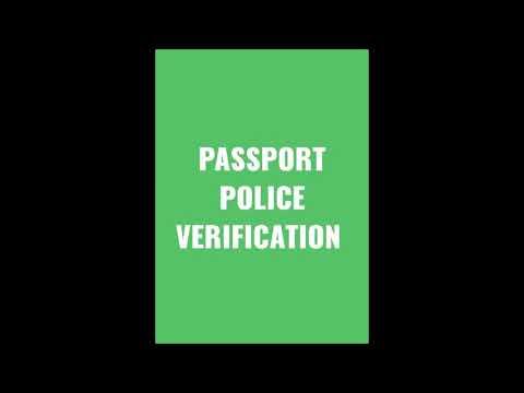 Passport Police Verification[Lyrical]