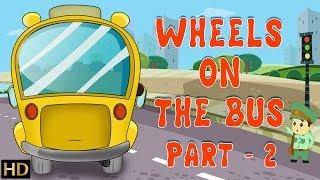 The Wheels on the Bus Part II HD Nursery Rhymes Popular Kids Songs Shemaroo Kids