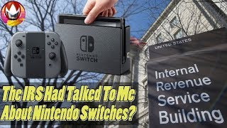 IRS Contacted Me Over My Nintendo Switch Give Away?