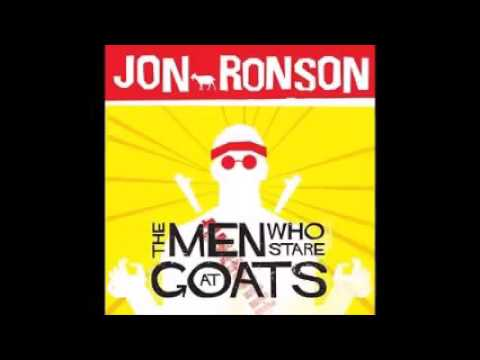 The Men Who Stare At Goats Audiobook By Jon Ronson