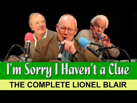 I'm Sorry I Haven't a Clue—The Complete Lionel Blair (1993-2007)