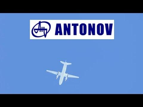 Avión Antonov AN-24 Vertical Leso.