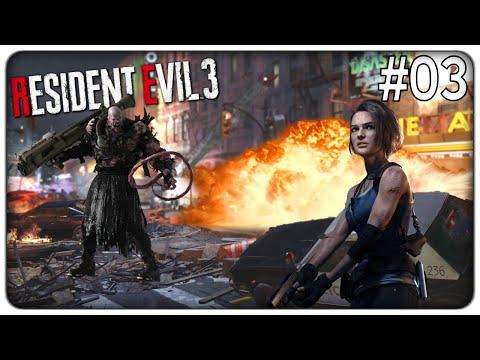 PROVA A SFUGGIRE AL NEMESIS ARMATO DI LANCIAFIAMME E LANCIARAZZI   Resident Evil 3 Remake - ep. 03