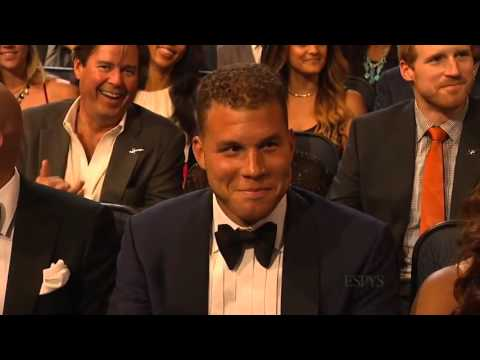 Drake opening monolouge featuring the  Lance Cam  at the 2014 ESPY