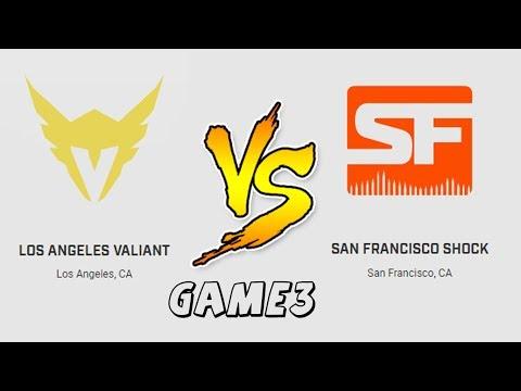 Game 3 | Los Angeles Valiant vs  San Francisco Shock  | Overwatch League Preseason