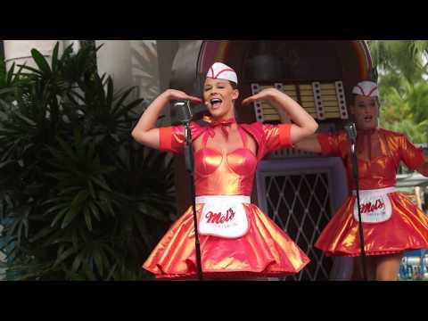 Universal Studios Singapore The Mel's Dinettes 27.10.17