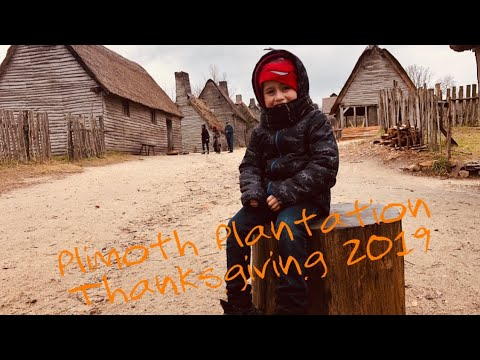 Thanksgiving day in Plimoth Plantation - YouTube