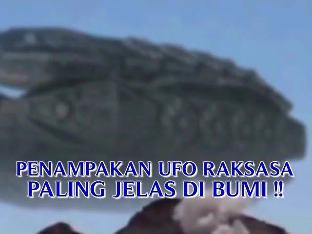 VIDEO PENAMPAKAN UFO RAKSASA PALING JELAS DI BUMI PENAMPAKAN UFO PALING NYATA TERBARU !!
