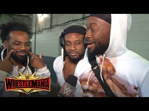 The New Day arrive at WrestleMania ready for Kofi Kingston's big moment: Exclusive, April 7, 2019