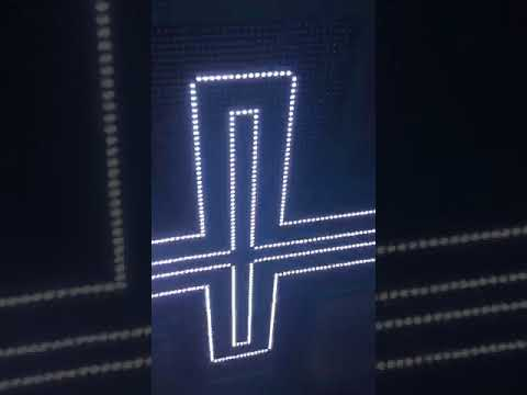 768mmX768mm P8 led pharmacy cross from Cindy 1