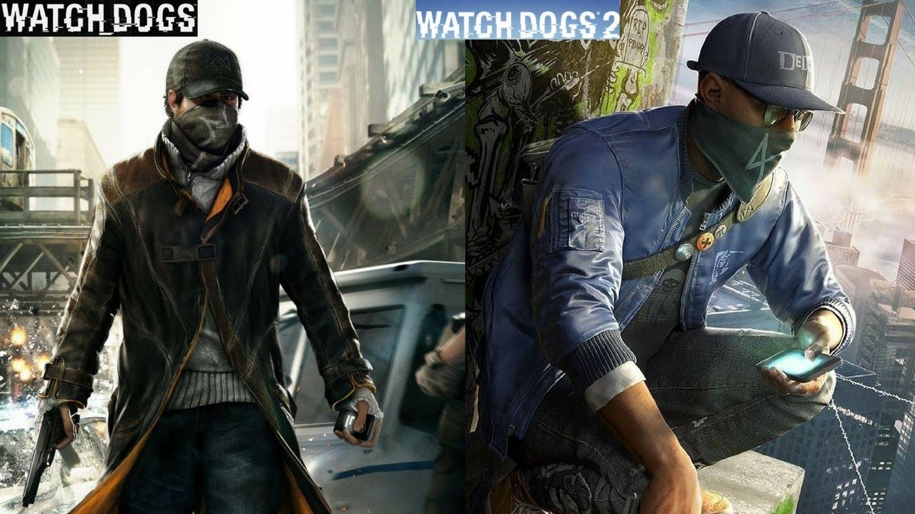 Watch Dogs vs  Watch Dogs 2 - Split Screen Graphics Comparison