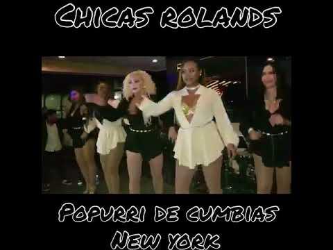 CHICAS ROLANDS Cumbias 2018 usa