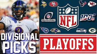 NFL DIVISIONAL ROUND PICKS 2020 NFL GAME PREDICTIONS | NFL PLAYOFF PICKS 2020